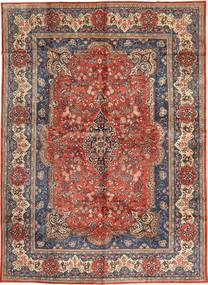 Sarouk Rug 286X400 Authentic  Oriental Handknotted Light Brown/Black Large (Wool, Persia/Iran)