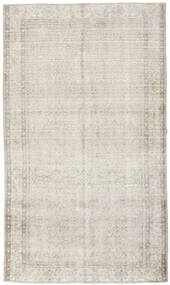 Colored Vintage Rug 155X265 Authentic  Modern Handknotted Light Grey/Dark Beige (Wool, Turkey)