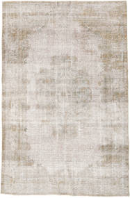 Colored Vintage Rug 184X278 Authentic  Modern Handknotted Light Grey (Wool, Turkey)