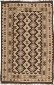 Kilim Maimane Rug 199X298 Authentic  Oriental Handwoven Light Brown/Dark Brown (Wool, Afghanistan)