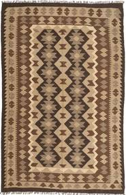 Kelim Maimane Teppe 191X295 Ekte Orientalsk Håndvevd Lysbrun/Mørk Brun/Brun (Ull, Persia/Iran)