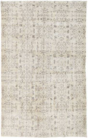 Colored Vintage Rug 163X261 Authentic  Modern Handknotted Light Grey/Dark Beige (Wool, Turkey)