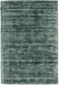 Tribeca - Green Rug 140X200 Modern Dark Green/Dark Grey ( India)