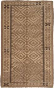Kilim Maimane Rug 155X253 Authentic  Oriental Handwoven Brown/Light Brown (Wool, Afghanistan)