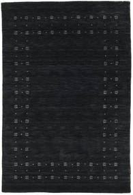 Loribaf Loom Delta - Black/Grey Rug 120X180 Modern Dark Blue (Wool, India)