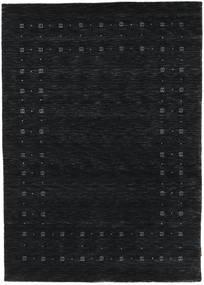 Loribaf Loom Delta - Black/Grey Rug 140X200 Modern Dark Blue (Wool, India)