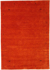 Loribaf Loom Zeta - Orange Tapis 140X200 Moderne Orange/Rouge/Rouille/Rouge (Laine, Inde)