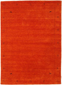 Loribaf Loom Zeta - Orange Rug 160X230 Modern Orange/Crimson Red (Wool, India)