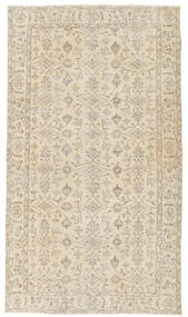 Colored Vintage Rug 119X210 Authentic  Modern Handknotted Light Brown/Beige (Wool, Turkey)