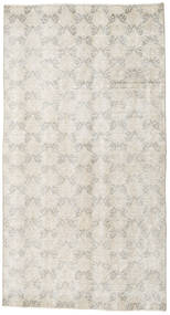Colored Vintage Rug 107X198 Authentic  Modern Handknotted Light Grey/Dark Beige (Wool, Turkey)