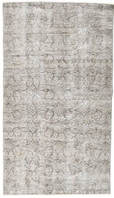 Colored Vintage Rug 110X198 Authentic  Modern Handknotted Light Grey (Wool, Turkey)