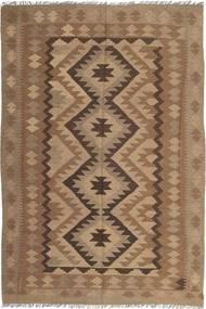 Kelim Maimane Matto 194X292 Itämainen Käsinkudottu Ruskea/Vaaleanruskea (Villa, Afganistan)