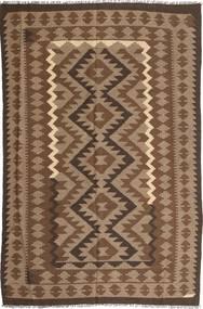 Kilim Maimane Rug 190X293 Authentic  Oriental Handwoven Brown/Light Brown (Wool, Afghanistan)