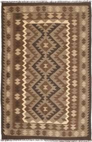Kilim Maimane Rug 193X298 Authentic  Oriental Handwoven Brown/Light Brown (Wool, Afghanistan)