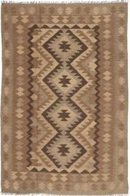 Kilim Maimane Dywan 193X295 Orientalny Tkany Ręcznie Brązowy/Jasnobrązowy (Wełna, Afganistan)