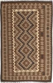 Kelim Maimane Teppe 189X292 Ekte Orientalsk Håndvevd Brun/Lysbrun (Ull, Afghanistan)