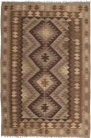 Kilim Maimane Dywan 194X295 Orientalny Tkany Ręcznie Brązowy/Jasnobrązowy (Wełna, Afganistan)