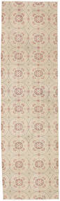 Colored Vintage Rug 82X285 Authentic  Modern Handknotted Hallway Runner  Light Brown/Beige (Wool, Turkey)