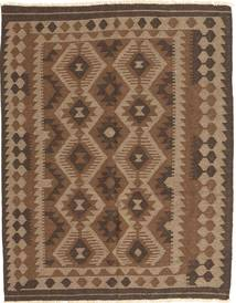 Kilim Maimane Rug 148X187 Authentic  Oriental Handwoven Brown/Dark Brown (Wool, Afghanistan)