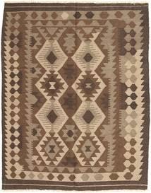 Kilim Maimane Rug 149X188 Authentic  Oriental Handwoven Brown/Dark Brown (Wool, Afghanistan)