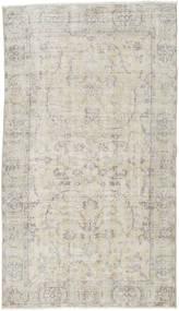カラード ヴィンテージ 絨毯 115X203 モダン 手織り 薄い灰色/暗めのベージュ色の (ウール, トルコ)