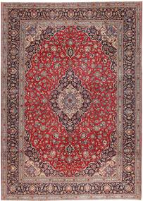Keshan Patina Rug 295X410 Authentic Oriental Handknotted Dark Red/Light Brown Large (Wool, Persia/Iran)