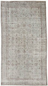 Colored Vintage Rug 111X208 Authentic  Modern Handknotted Light Grey (Wool, Turkey)