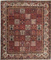 Bakhtiari Patina Rug 278X330 Authentic  Oriental Handknotted Light Brown/Dark Brown Large (Wool, Persia/Iran)