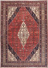 Hamadan Patina Matto 260X367 Itämainen Käsinsolmittu Tummanpunainen/Tummanruskea Isot (Villa, Persia/Iran)