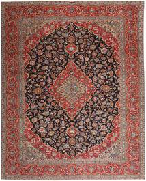 Keshan Patina Rug 310X392 Authentic  Oriental Handknotted Light Brown/Brown Large (Wool, Persia/Iran)