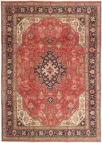 Tabriz Patina Rug 236X340 Authentic  Oriental Handknotted Brown/Light Brown (Wool, Persia/Iran)