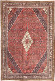 Hamadan Patina Rug 255X370 Authentic  Oriental Handknotted Light Brown/Light Pink Large (Wool, Persia/Iran)