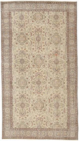 Colored Vintage Rug 116X212 Authentic  Modern Handknotted Light Brown/Light Grey (Wool, Turkey)