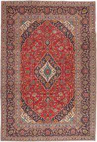 Keshan Patina Rug 240X347 Authentic  Oriental Handknotted Light Brown/Dark Red (Wool, Persia/Iran)