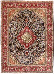 Tabriz Patina Rug 292X400 Authentic  Oriental Handknotted Dark Red/Brown Large (Wool, Persia/Iran)