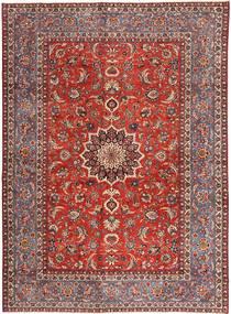 Najafabad Patina Tapis 280X383 D'orient Fait Main Rouge Foncé/Rouille/Rouge Grand (Laine, Perse/Iran)