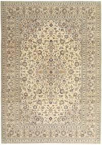 Keshan Patina Vloerkleed 243X340 Echt Oosters Handgeknoopt Beige/Lichtgrijs (Wol, Perzië/Iran)