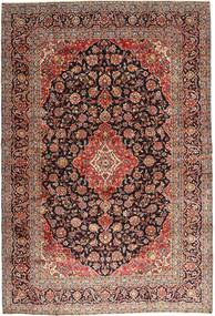 Keshan Rug 242X355 Authentic  Oriental Handknotted Light Brown/Dark Red (Wool, Persia/Iran)