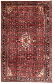 Hosseinabad Rug 210X332 Authentic  Oriental Handknotted Dark Red/Brown (Wool, Persia/Iran)