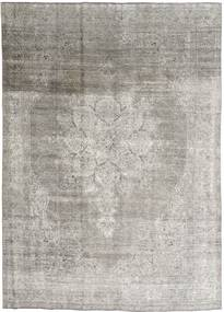 Colored Vintage Rug 245X330 Authentic  Modern Handknotted Light Grey (Wool, Persia/Iran)