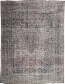 Colored Vintage Rug 293X382 Authentic  Modern Handknotted Dark Brown/Dark Grey/Light Grey Large (Wool, Persia/Iran)