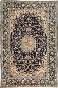 Najafabad Patina Rug 231X353 Authentic  Oriental Handknotted Light Grey/Black (Wool, Persia/Iran)