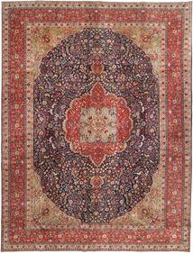 Tabriz Patina Rug 292X385 Authentic  Oriental Handknotted Dark Red/Brown/Light Brown Large (Wool, Persia/Iran)