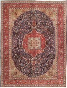 Tabriz Patina Matto 292X385 Itämainen Käsinsolmittu Tummanpunainen/Ruskea/Vaaleanruskea Isot (Villa, Persia/Iran)