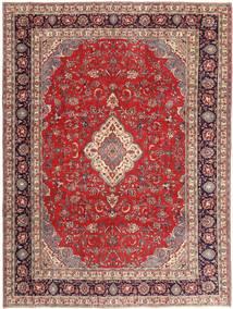 Sarough Patina Alfombra 268X360 Oriental Hecha A Mano Rojo Oscuro/Beige Grande (Lana, Persia/Irán)