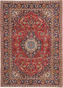 Keshan Patina Rug 240X338 Authentic  Oriental Handknotted Brown/Dark Blue (Wool, Persia/Iran)