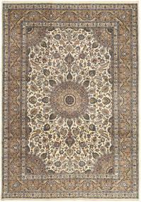 Keshan Patina Rug 242X347 Authentic  Oriental Handknotted Light Grey/Light Brown (Wool, Persia/Iran)