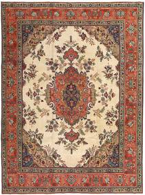 Tabriz Patina Rug 245X330 Authentic  Oriental Handknotted Light Brown/Dark Red (Wool, Persia/Iran)