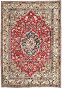 Tabriz Patina Rug 237X336 Authentic  Oriental Handknotted Light Brown/Light Pink (Wool, Persia/Iran)
