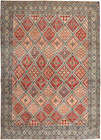 Nain Patina Rug 287X395 Authentic Oriental Handknotted Light Brown/Light Grey Large (Wool/Silk, Persia/Iran)